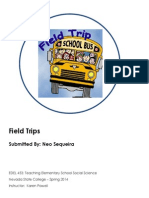 Traditonal, Visitation and Virtual Field Trips