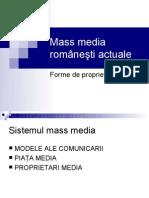 Mass Media Actuale