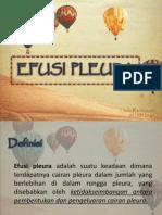 EFUSI PLEURA-efusi Pleura