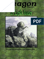 Call of Cthulhu - Dragon Mag - R'Lyeh Issue