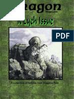 Call of Cthulhu - Dragon Mag - R'Lyeh Issue