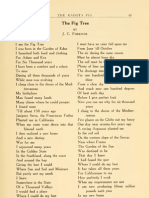 The Fig Tree Poem by JC Forkner Chairman State Irrigation Commission Fresno