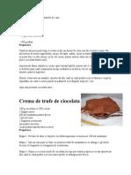 Crema de Ciocolata Sau Danette de Casa