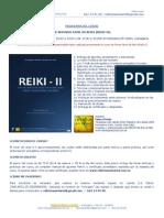 Programa Reiki II en Cartagena, Murcia (España)