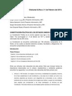Constitución Entrega
