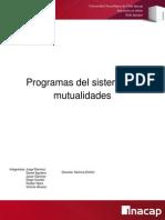 Sistemas de Mutualidades