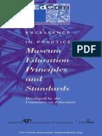 Museum Principles & Standards