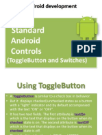 standard android control