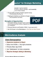 Budget Presentation Example