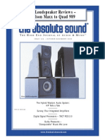 Absolute Sound Nov 2000