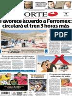 Periódico Norte de Ciudad Juárez edición impresa del 7 mayo de 2014