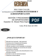 Gestion de Exportacion Piura