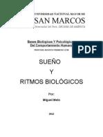 Sueño y Ritmos Biologicos - Miguel Melo