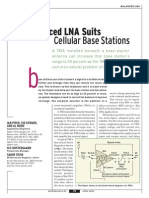 [MWRF0204] Balanced LNA Suits Cellular Base Stations
