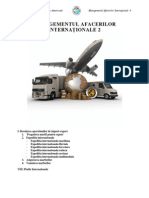 2. Managementul Afacerilor Internationale II