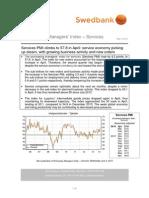 PMI Services, April 2014