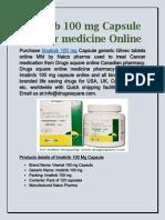 Imatinib 100 Mg Capsule Online