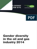 Oilandgasjobsearch Gender Diversity 2014