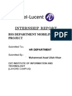 Alcatel Internship Report