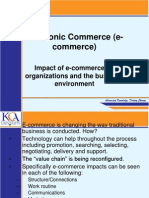 Impact of Ecommerce on Organizations Final Copy