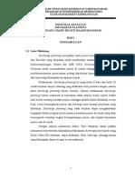 Proposal Discharge Plaanning