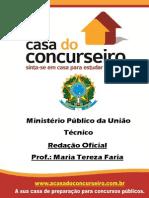 Apostila Mpu Redação Oficial Maria Tereza