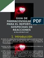 Guia de Farmacovigilancia Para El Reporte de Sospechas