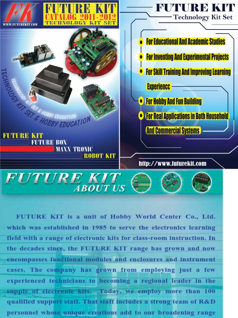 Catalog Futurekit Light Emitting Diode Amplifier Rapid Ldr Pcb Project Kit Online
