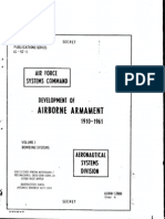 Development of Airborne Armament 1910-61 Bombing System