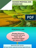 Materi Pembekalan Kkn Ump 2011