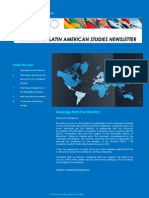 Third edition of Institute of Latin American Studies Newsletter