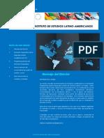 Tercera Edición del Boletín del Instituto de Estudios Latinoamericanos