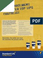 Auto Enrolment Employer Tips