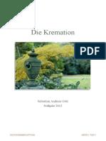 Die Feuerbestattung in Deutschland