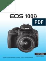 EOS 100D Instruction Manual ES