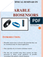 Wearable Biosensorsq