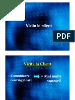 MV Curs 5 - Vizite La Clienti