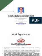 Shahadatuliskandar Rosli Portfolio-pps