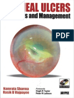 Corneal ulcer diagnosis and management