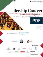 Leadership Concert, 26 Mai 2014, Ateneul Roman