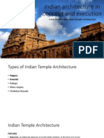 Indian Architecture in Concept and Execution Case Study of Dravidian Temple Architecture