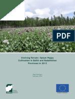 Poppy Cultivation in Balkh Badakhshan Case Study