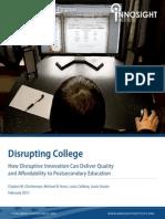 Disrupting College Execsumm