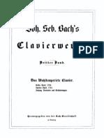 Bach - El Clave Bien Temperado - Libro 1