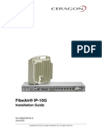 Ceragon FibeAir IP-10G Installation Guide