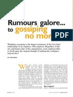 Workplace Gossips