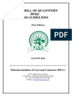 Model BOQ and Guidelines