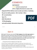Allura Xper FD Advacements