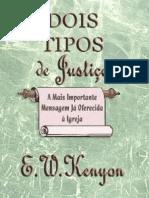 E. W. Kenyon - Dois Tipos de Justiça