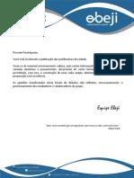 Resultado GEDPU Objetiva - Rodada 2014.03 (Justificativas)